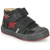 Παπούτσια Αγόρι Ψηλά Sneakers GBB RADIS Vte / Μαύρο-brique / Dpf / Linux