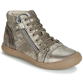 Παπούτσια Κορίτσι Ψηλά Sneakers GBB RACHIDA Taupe / Bronze