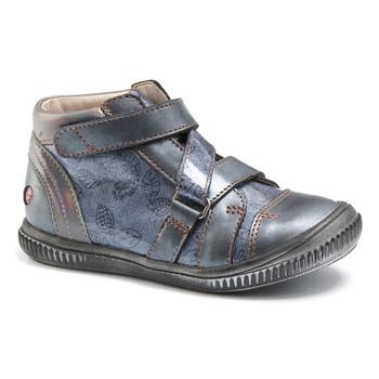 Παπούτσια Κορίτσι Ψηλά Sneakers GBB RADEGONDE Vtv / Μπλέ / ΓΚΡΙ + ΣΤΑΜΠΑ / Dpf / Franca