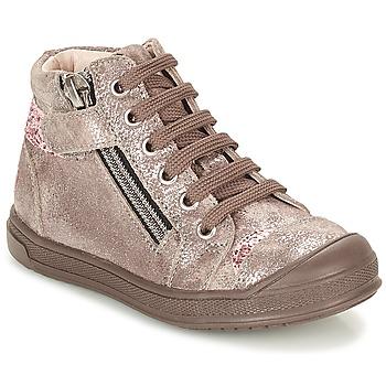 Παπούτσια Κορίτσι Ψηλά Sneakers GBB DESTINY Taupe / Bronze