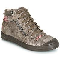 Παπούτσια Κορίτσι Ψηλά Sneakers GBB DESTINY Crt / Taupe / Ροζ / Dpf / Edit