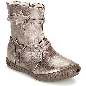 Παπούτσια Κορίτσι Μπότες GBB NOTTE Taupe / Bronze