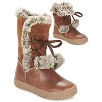 Παπούτσια Κορίτσι Μπότες για την πόλη GBB NOUSTIK Cognac