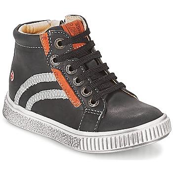 Παπούτσια Αγόρι Ψηλά Sneakers GBB NESTOR Black
