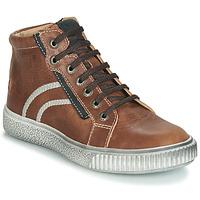 Παπούτσια Αγόρι Ψηλά Sneakers GBB NESTOR Vte / Brown / Dpf / Letty
