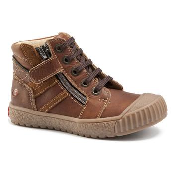 Παπούτσια Αγόρι Ψηλά Sneakers GBB RAMBOUTAN Vte / Brown / Dpf / Linux