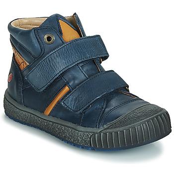 Παπούτσια Αγόρι Ψηλά Sneakers GBB RAIFORT Marine / Ocre