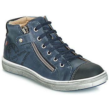 Παπούτσια Αγόρι Ψηλά Sneakers GBB NICO Vte / Marine / Dpf / 2835