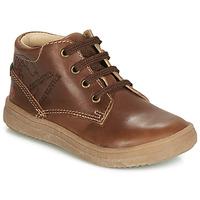 Παπούτσια Αγόρι Ψηλά Sneakers GBB NINO Brown