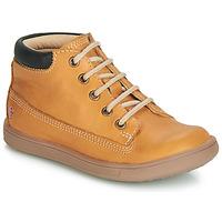 Παπούτσια Αγόρι Ψηλά Sneakers GBB NORMAN Vte / Ocre / Dpf / Messi