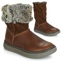 Παπούτσια Κορίτσι Μπότες για την πόλη GBB DUBROVNIK Brown