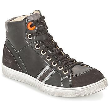 Παπούτσια Αγόρι Ψηλά Sneakers GBB ANGELO Black