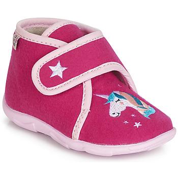 Παπούτσια Κορίτσι Παντόφλες GBB FEE DES BOIS Ttx / Raspberry / Dtx / Amis