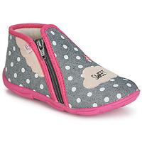Παπούτσια Κορίτσι Παντόφλες GBB MILKY Grey / Ροζ
