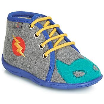 Παπούτσια Αγόρι Παντόφλες GBB SUPER BOYS Grey / Μπλέ