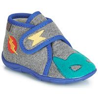 Παπούτσια Αγόρι Παντόφλες GBB SUPER DOUDOU Ttx / Γκρι-μπλε / Dtx / Amis