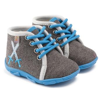 Παπούτσια Αγόρι Παντόφλες GBB DAGONET Ttx / ΓΚΡΙ-ΓΑΛΑΖΙΟ / Dtx / Amis