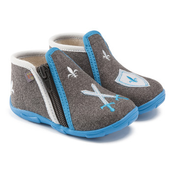Παπούτσια Αγόρι Παντόφλες GBB LANCELOT Ttx / ΓΚΡΙ-ΓΑΛΑΖΙΟ / Dtx / Amis