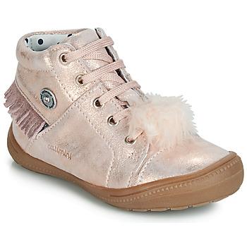 Παπούτσια Κορίτσι Ψηλά Sneakers Catimini ROSALIE Vte / Ροζ / Poudré / Dpf / 2822