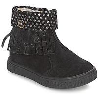 Παπούτσια Κορίτσι Μπότες Catimini PERETTE Black / Argenté