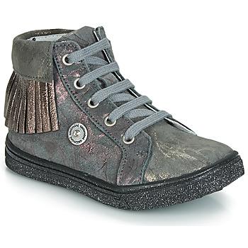 Παπούτσια Κορίτσι Ψηλά Sneakers Catimini LOULOU Grey / Ροζ