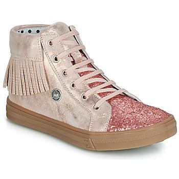 Παπούτσια Κορίτσι Ψηλά Sneakers Catimini LOULOU Ροζ