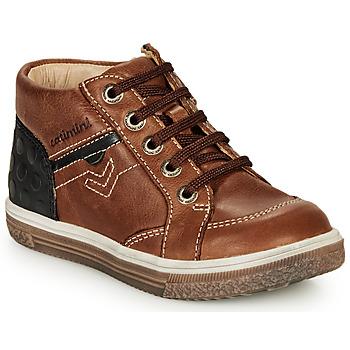 Παπούτσια Αγόρι Ψηλά Sneakers Catimini PASCOU Nub / Brown / Dpf /  times