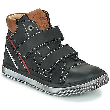 Παπούτσια Αγόρι Ψηλά Sneakers Catimini ROBBY Black