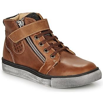 Παπούτσια Αγόρι Ψηλά Sneakers Catimini TOBBY Nub / Brown / Dpf / Tommy