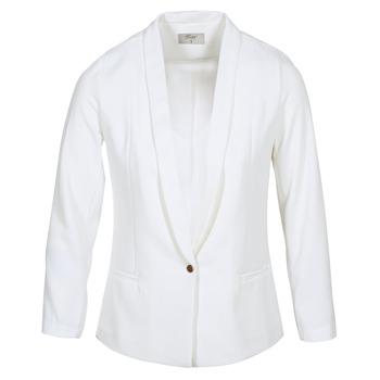 Υφασμάτινα Γυναίκα Σακάκι / Blazers Betty London IKAROLE Άσπρο