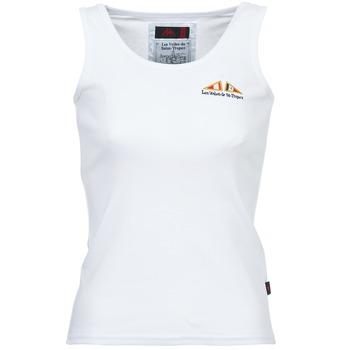 Υφασμάτινα Γυναίκα Αμάνικα / T-shirts χωρίς μανίκια Les voiles de St Tropez BLENNIE Άσπρο