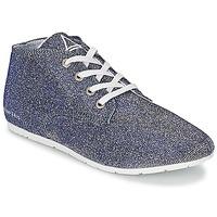 Παπούτσια Γυναίκα Χαμηλά Sneakers Eleven Paris BASGLITTER Argenté