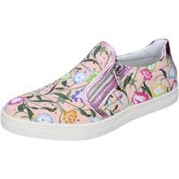 Παπούτσια Κορίτσι Slip on Didiblu slip on rosa pelle tela strass AG479 Rosa