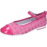 Παπούτσια Κορίτσι Μπαλαρίνες Didiblu ballerine pelle scamosciata vernice AG486 Rosa