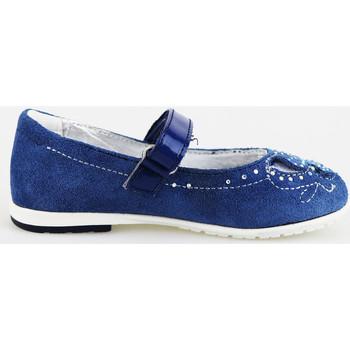 Παπούτσια Κορίτσι Μπαλαρίνες Didiblu ballerine blu camoscio AG487 Blu