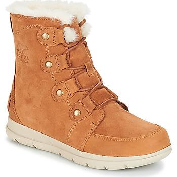 Παπούτσια Γυναίκα Μπότες Sorel SOREL™ EXPLORER JOAN Camel