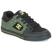 Παπούτσια Παιδί Χαμηλά Sneakers DC Shoes PURE SE B SHOE BK9 Black / Green