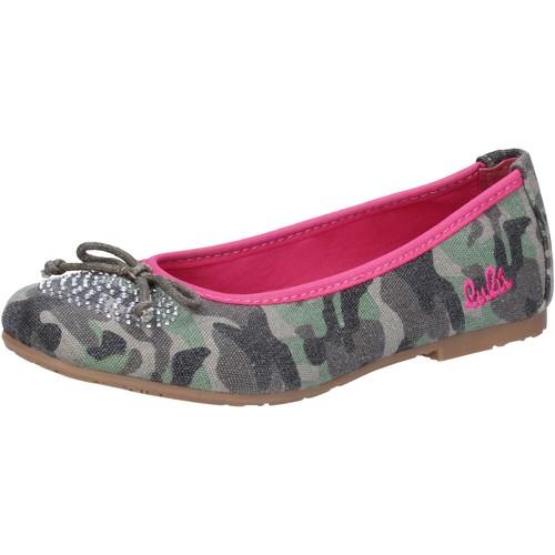 Παπούτσια Κορίτσι Μπαλαρίνες Lulu ΠΑΠΟΥΤΣΙΑ ΜΠΑΛΕΤΟΥ AG640 πράσινος