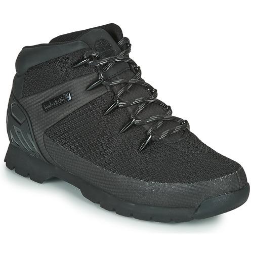 Παπούτσια Άνδρας Μπότες Timberland Euro Sprint Fabric WP Black