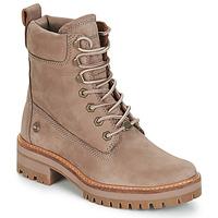 Παπούτσια Γυναίκα Μπότες Timberland Courmayeur Valley YBoot Taupe
