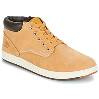 Παπούτσια Παιδί Ψηλά Sneakers Timberland Davis Square Leather Chk Brown / Blé