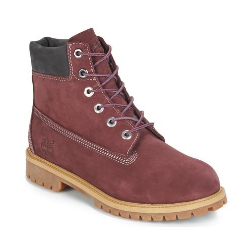 Παπούτσια Παιδί Μπότες Timberland 7 In Premium WP Boot Bordeaux