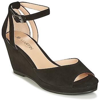 Παπούτσια Γυναίκα Σανδάλια / Πέδιλα JB Martin QUASAR Black