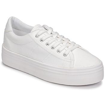 Παπούτσια Γυναίκα Χαμηλά Sneakers No Name PLATO SNEAKER Άσπρο