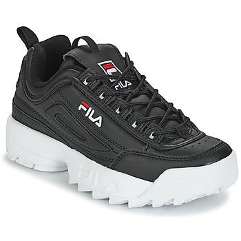 Παπούτσια Γυναίκα Χαμηλά Sneakers Fila DISRUPTOR LOW WMN Black
