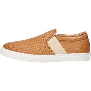 Παπούτσια Γυναίκα Slip on K852 & Son slip on cuoio pelle AG953 Marrone
