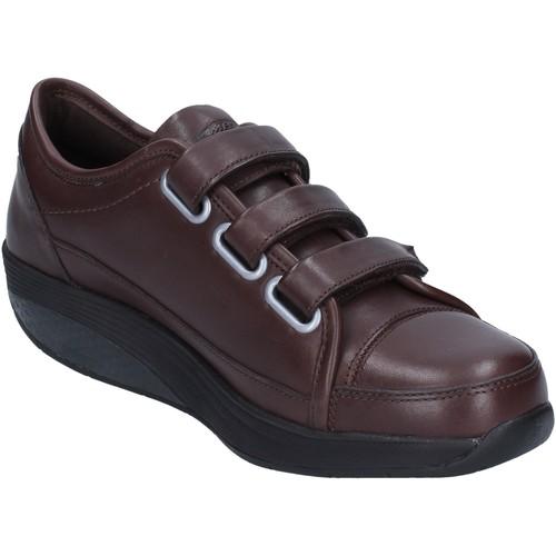 Παπούτσια Γυναίκα Χαμηλά Sneakers Mbt Αθλητικά AC143 καφέ