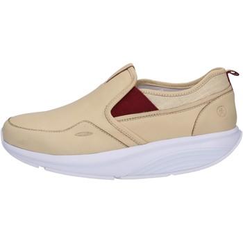Παπούτσια Γυναίκα Χαμηλά Sneakers Mbt Μοκασίνια AC442 Μπεζ