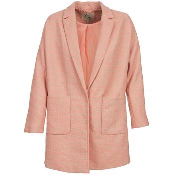 Υφασμάτινα Γυναίκα Παλτό Yumi AEKA ροζ