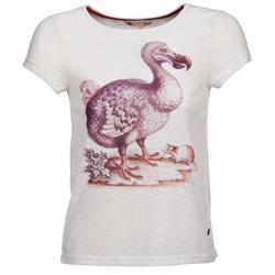 Υφασμάτινα Γυναίκα T-shirt με κοντά μανίκια Yumi BOTAN άσπρο